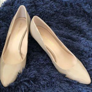 Franco Sarto size 10 nude heels.